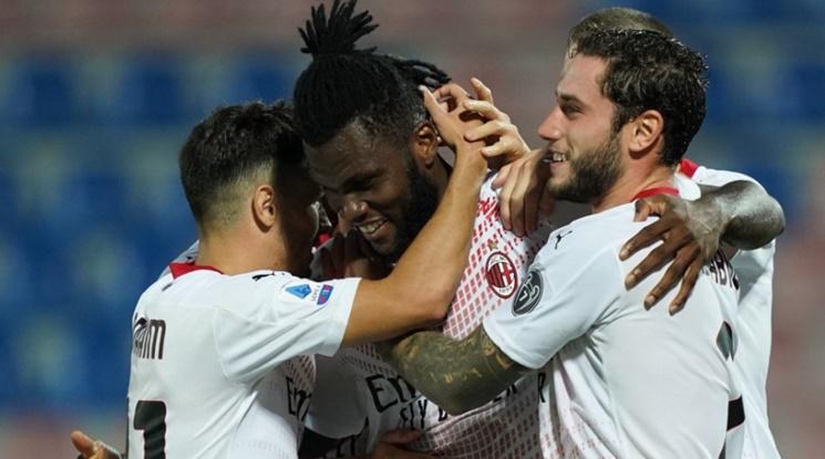 Милан удари новак, силен старт на сезона за росонерите (видео)