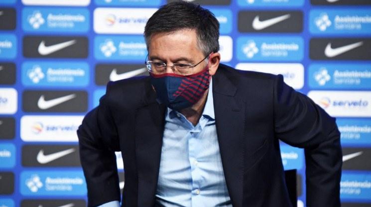Задава се вот на недоверие към президента на Барселона