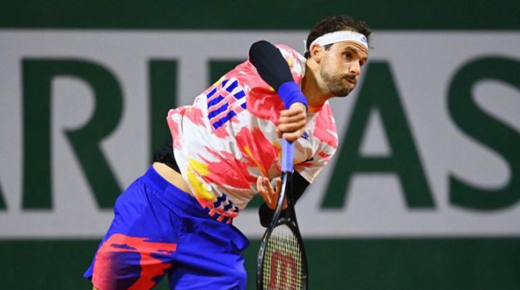"""Григор се класира за първи път в кариерата си на осминафинал на """"Ролан Гарос"""""""