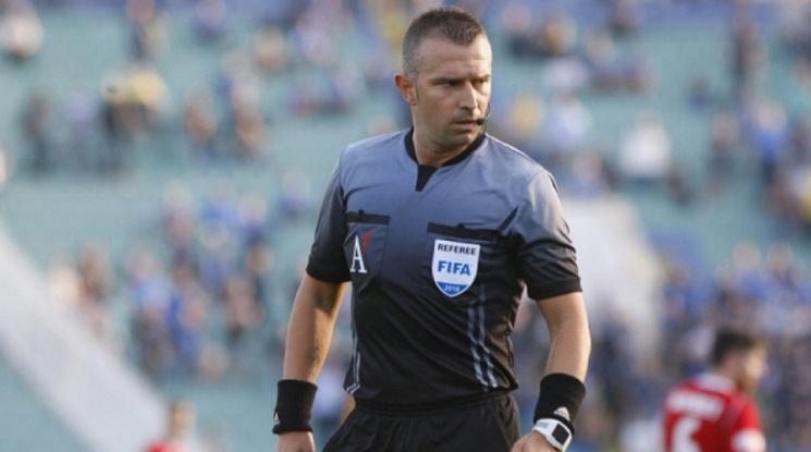 Ивайло Стоянов ще свири мач от Лигата на нациите