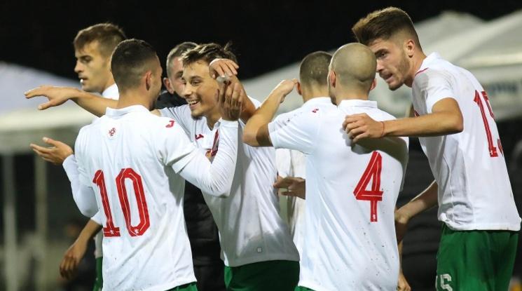 Младежите с изключително важна победа по пътя към Евро '21