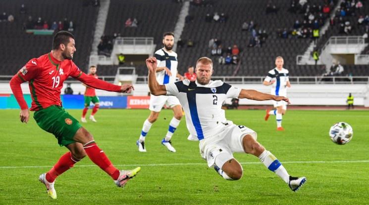 България загуби от Финландия като гост в Лигата на нациите (видео)
