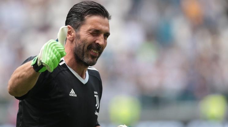 Буфон покори топрекорд, вече е безспорен номер 1 в Серия А (видео)