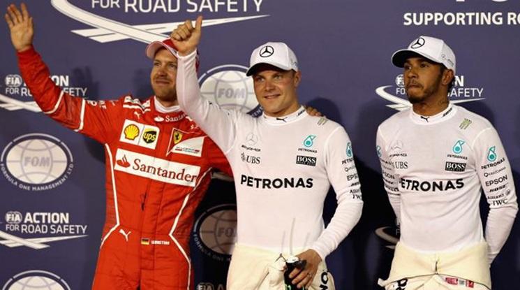 Ботас най-бърз след първите две тренировки преди Гран При на Португалия