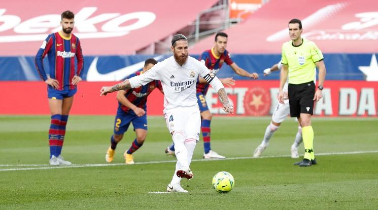 Спорна дузпа помогна на Реал да спечели Ел Класико (видео)