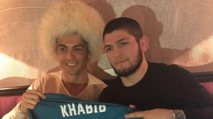 Кристиано поздрави Хабиб за победата срещу Гейджи
