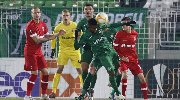 УЕФА глобява Лудогорец за картони