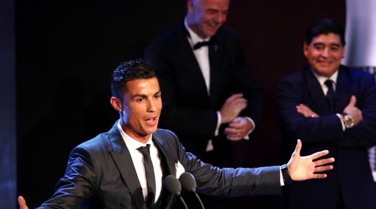 Пожеланието на Кристиано за ЧРД на Марадона: Прегръщам те, братко, ти си номер 1, но след мен!
