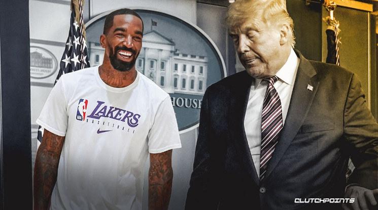 Играч на Лейкърс показа среден пръст на симпатизанти на Тръмп