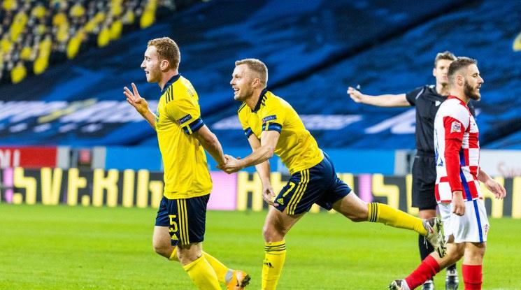 Швеция със заслужен успех срещу Хърватия (видео)