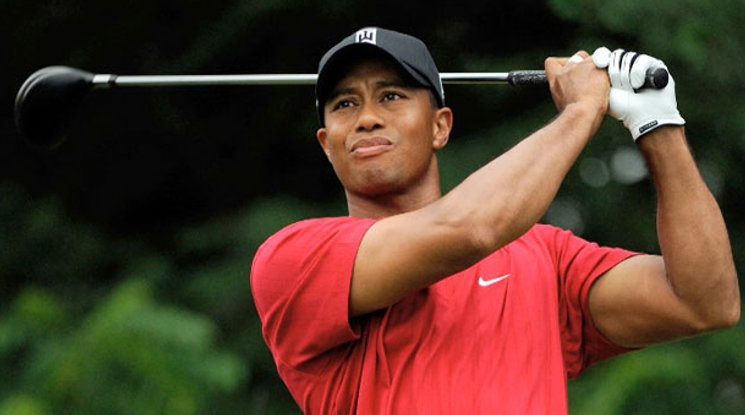 Уудс ще играе със сина си в голф турнир