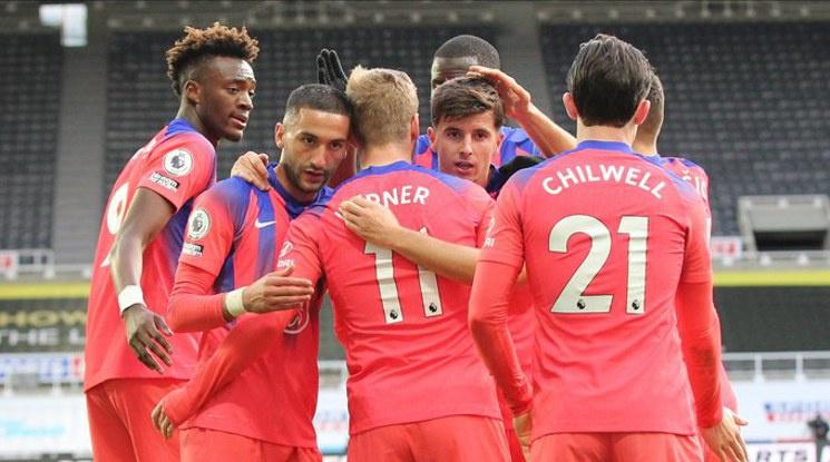 Челси оглави класирането след успех над Нюкасъл (видео)