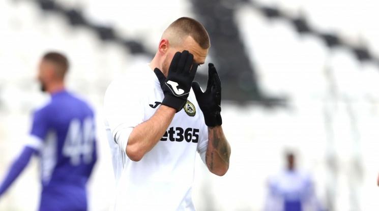 Славия и Етър изиграха скучен мач в дебюта на Томаш