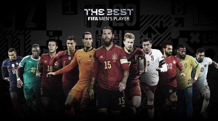 ФИФА обяви най-добрите, ето кои ще спорят за №1 на годината