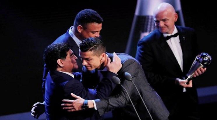 Кристиано Роналдо: Диего, никога няма да бъдеш забравен