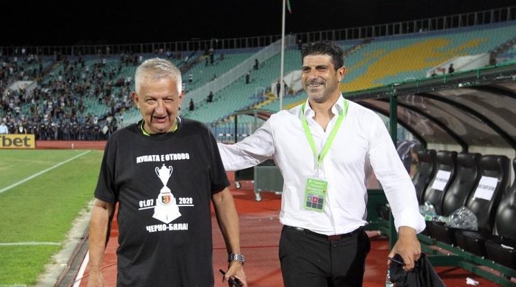Гонзо ще прави селекцията на Локо Пловдив изцяло сам