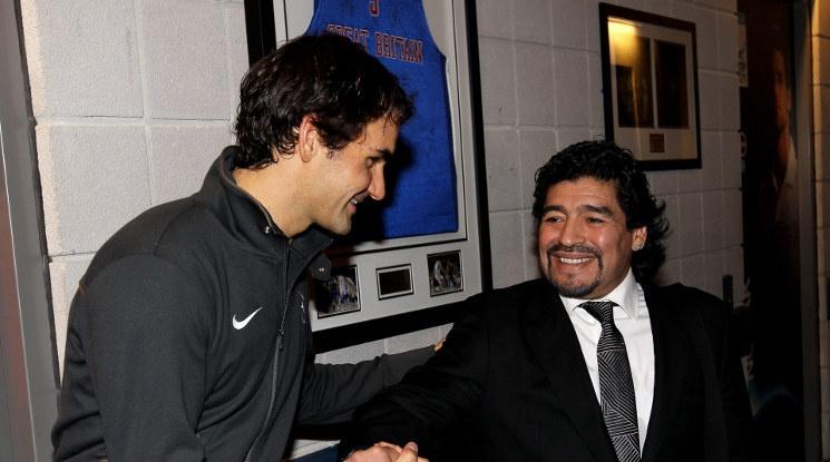 """""""Когато Федерер дойде при нас, Марадона почти се разплака"""""""