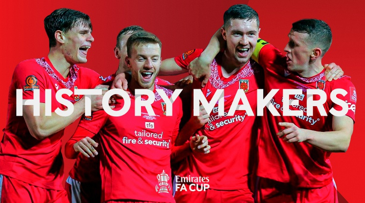 Чорли отпразнува историческата си победа за ФА къп под акомпанимента на... Адел (видео)