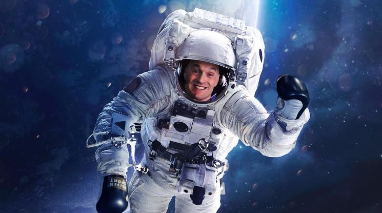 Тайсън Фюри става космонавт