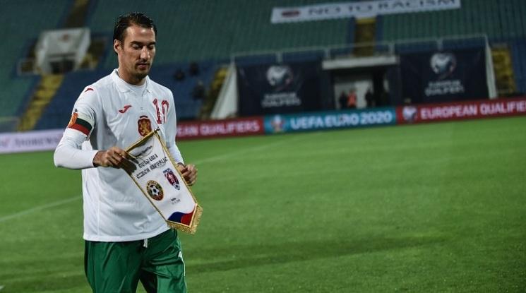 Националният отбор все още не е затворена страница за Ивелин Попов