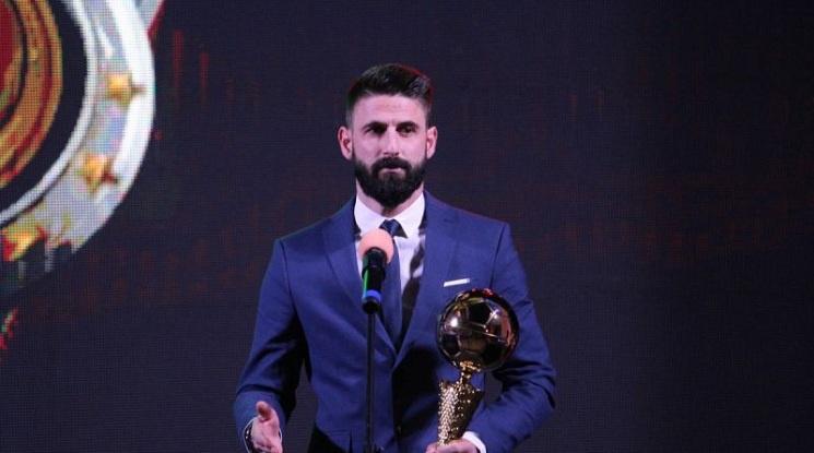 """Стана ясна призовата тройка за """"Футболист на годината"""""""