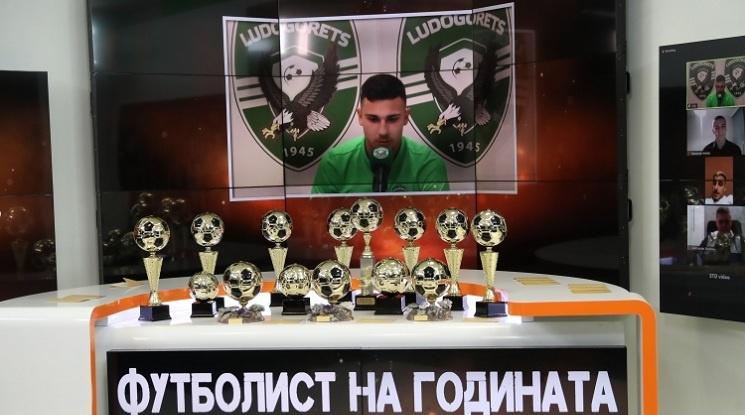 Доминик Янков получи признание за силните си игри