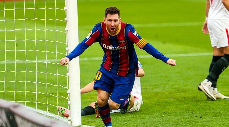 Барселона победи Севиля като гост (видео)
