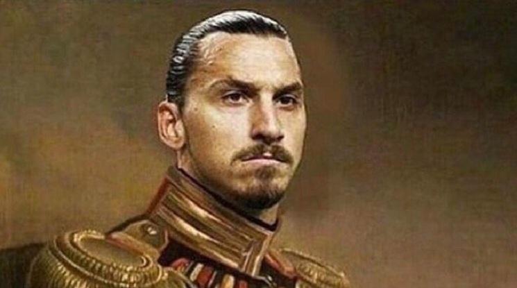 Златан се самопровъзгласи за крал на Швеция