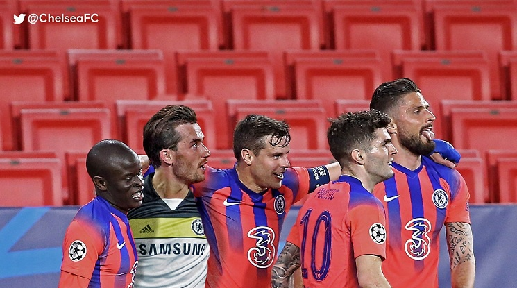 Порто 0:2 Челси (репортаж)
