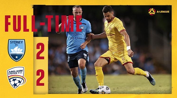 Сидни 2:2 Аделаида Юнайтед (репортаж)