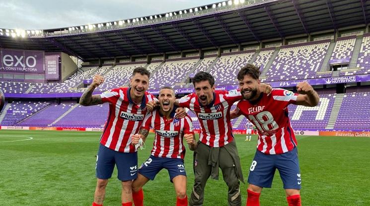 Атлетико Мадрид е новият шампион на Испания