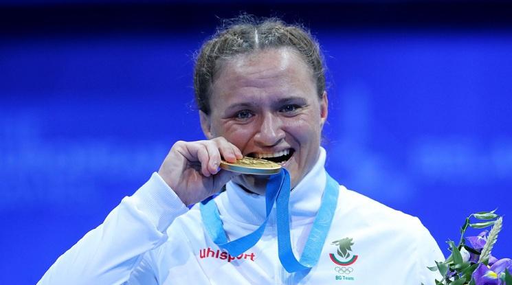 Мария Оряшкова триумфира за десети път с европейската титла