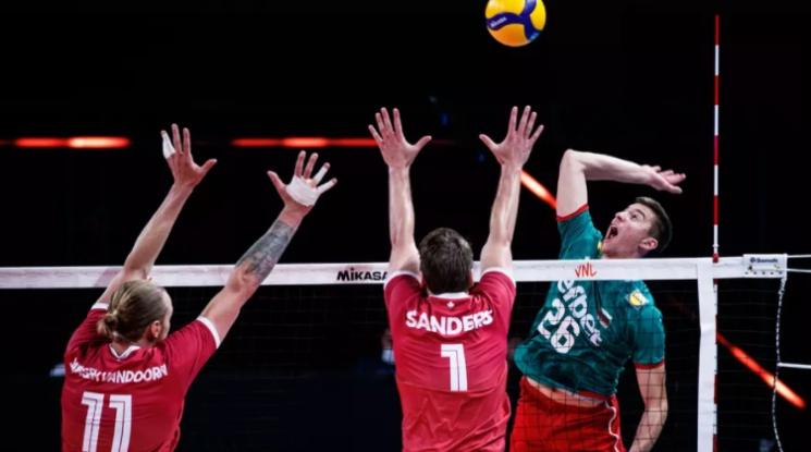 Волейболните ни национали с четвърта загуба в Лигата на нациите