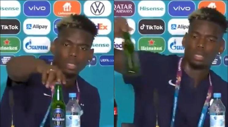 Роналдо не харесва Кола, Погба - бира (видео)
