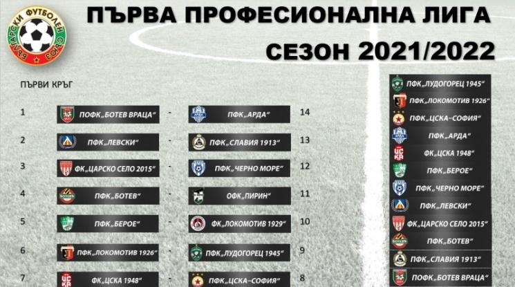 Новият сезон в Първа лига започва ударно, три суперсблъсъка още на старта