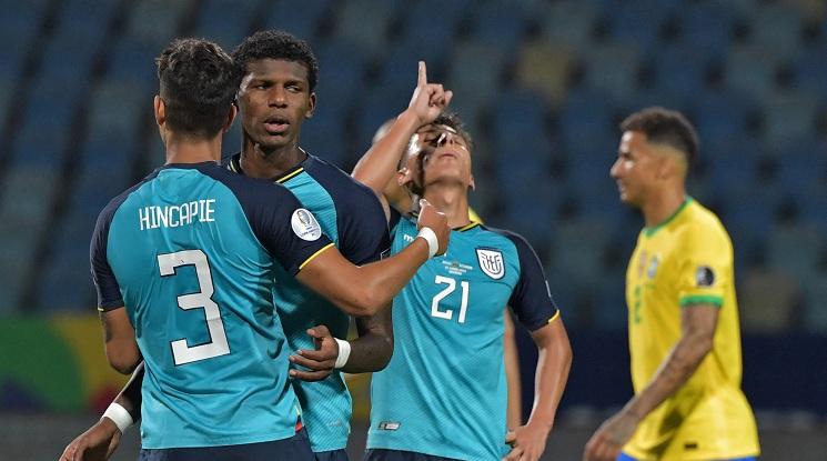 Бразилия 1:1 Еквадор (репортаж)