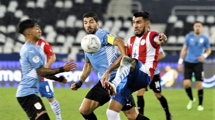 Уругвай 1:0 Парагвай (репортаж)