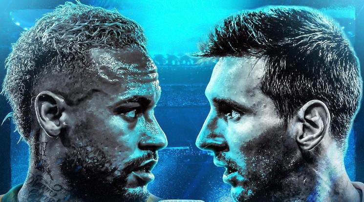 Бразилия и Аржентина ще спорят за трофея на Копа Америка