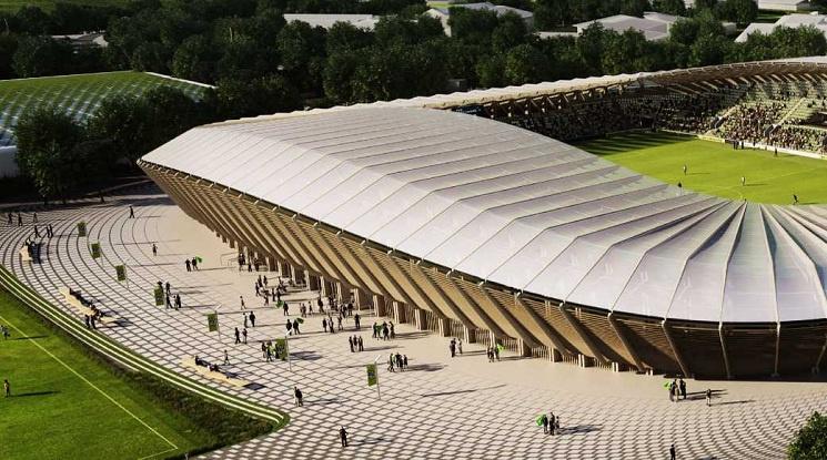 """Английски клуб ще строи """"най-зеления стадион на планетата"""""""
