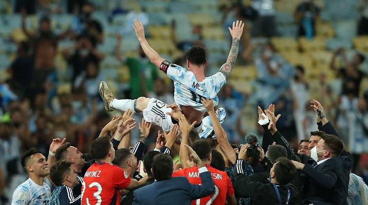 Аржентина и Уругвай са отборите с най-много титли от Копа Америка