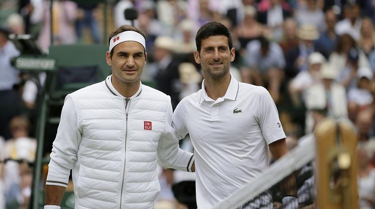 Федерер: Поздравления, Новак