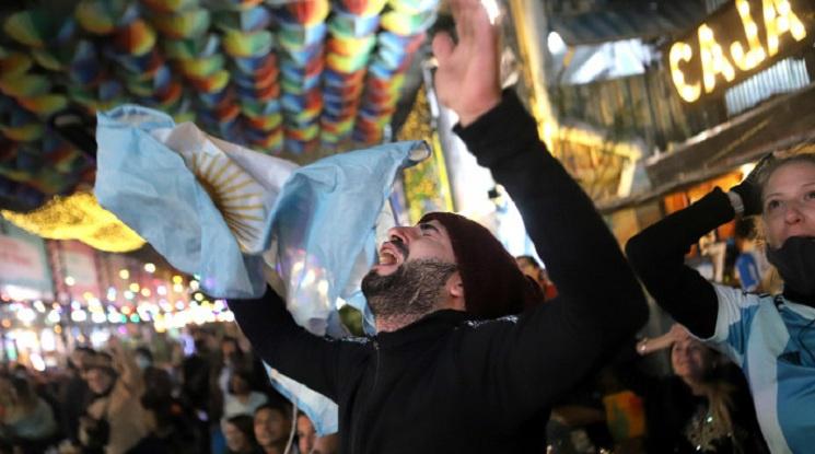 Емоционално посрещане на аржентинските национали в родината им (видео)