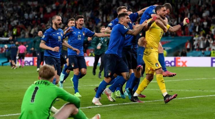 """Италия стана новият европейски шампион след невероятна драма на """"Уембли"""" (видео)"""