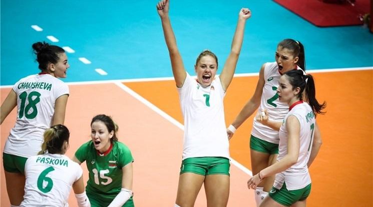 Волейболните националки спечелиха наградата за отбор на месеца