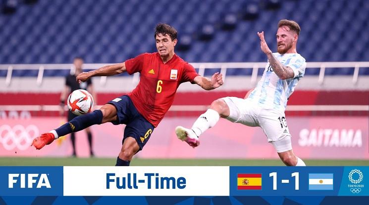 Аржентина не можа да прескочи груповата фаза на Игрите в Токио (видео)