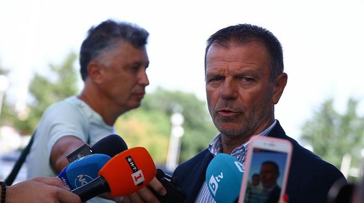 Стойчо Младенов: Във времето ще променям отбора както аз искам