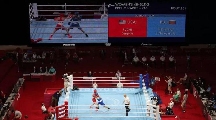 Стойка Кръстева е на 1/4-финал в Токио след успех над американка