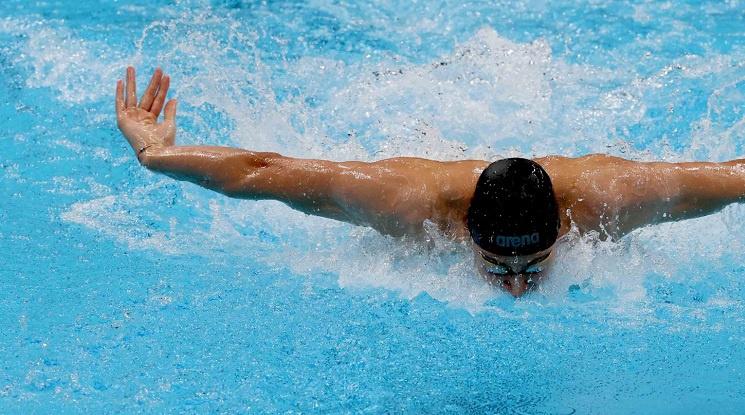 Йосиф Миладинов стана първият българин с олимпийски финал в плуването