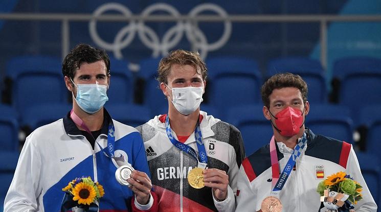 Саша Зверев е новият олимпийски шампион по тенис