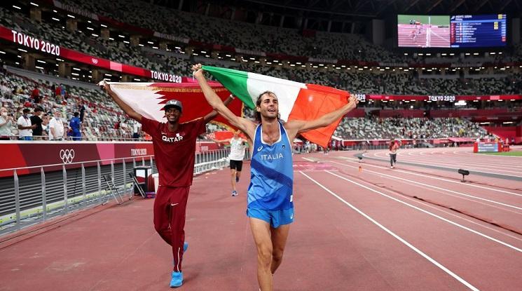 Скокът на височина в Токио има двама олимпийски шампиони